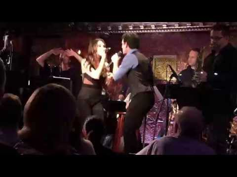 Kelli Barrett and Jarrod Spector  Crazy In Love live @ 54 Below, 102215