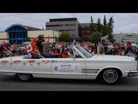 2017 Canada Day Parade - Yellowknife NT