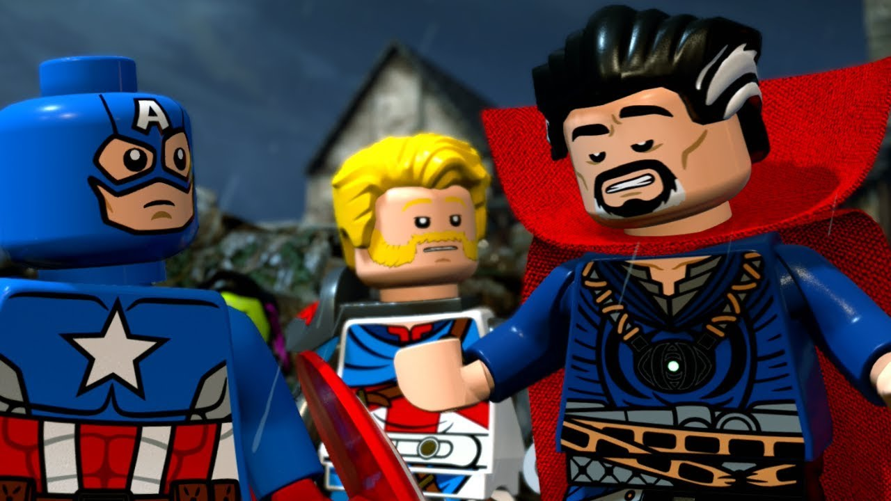 Lego Marvel Super Heroes 2 Part 3 Castle Hassle Dr Strange