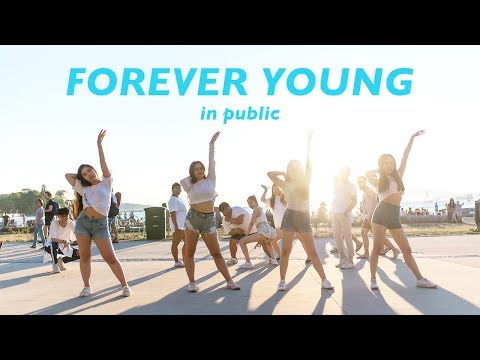 "[KPOP IN PUBLIC VANCOUVER FLASHMOB] BLACKPINK (블랙핑크): ""FOREVER YOUNG"" Dance Cover [K - CITY]"