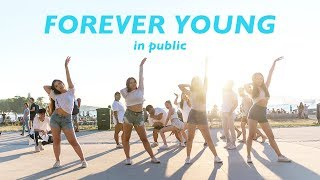 "[KPOP IN PUBLIC VANCOUVER FLASHMOB] BLACKPINK (블랙핑크): ""FOREVER YOUNG"" Dance Cover [K-CITY]"