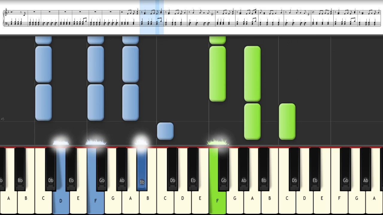 The scientist coldplay piano tutorial synthesia midi and the scientist coldplay piano tutorial synthesia midi and sheet music baditri Gallery