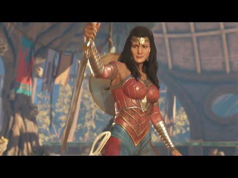 Injustice 2 Air Amazonian Slam Wonder Woman