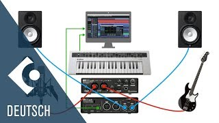 Wie man Audio und MIDI Hardware anschließt | Erste Schritte mit Cubase AI und LE