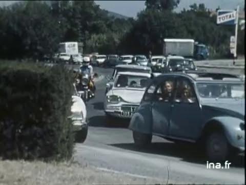 Paris vs Saint-Tropez in August | INA Archive