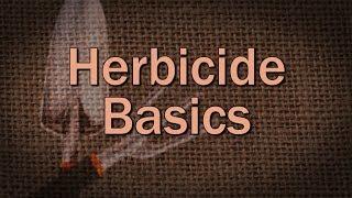Herbicide Basics – Family Plot