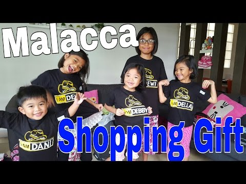 Malacca shopping gift // Kids goes holiday with Grandparents //06june2016 /thezunafamily vlogs