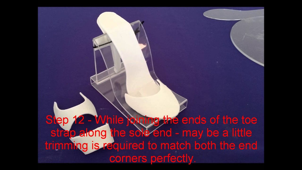 High Heel Fondant Shoe Kit Tutorial by Ediblecakelace.co.uk and ...