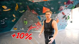 CLIMBING WITH ADDED WEIGHT # 141