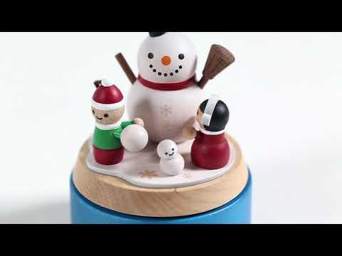 Build a Snowman Music Box