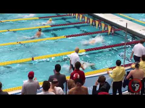 Purdue's Joe Gardner Executes Perfect Breaststroke Flip Turns at Big Tens