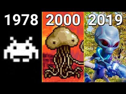 Evolution of Aliens in Games 1978-2020 |