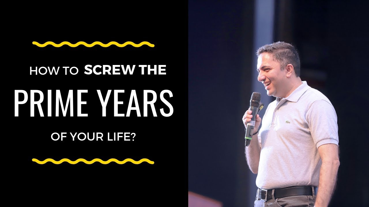 How to screw the PRIME YEARS of your Life | Akash Gautam | Motivational Speaker for Youth & Stud