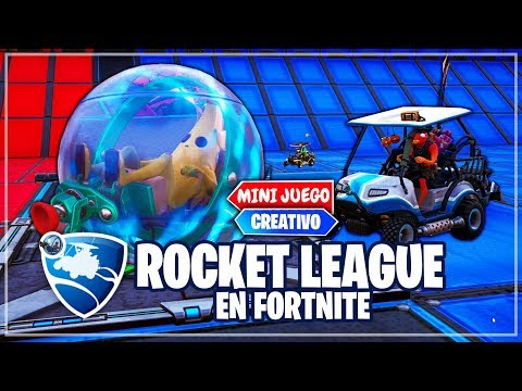 NUEVO *ROCKET LEAGUE EN FORTNITE* (MINIJUEGOS CREATIVO) thumbnail
