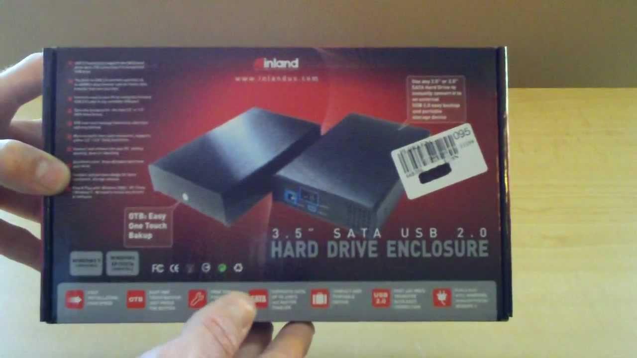 "Inland 2.5/"" SATA HDD Adapter w// USB 3.0"