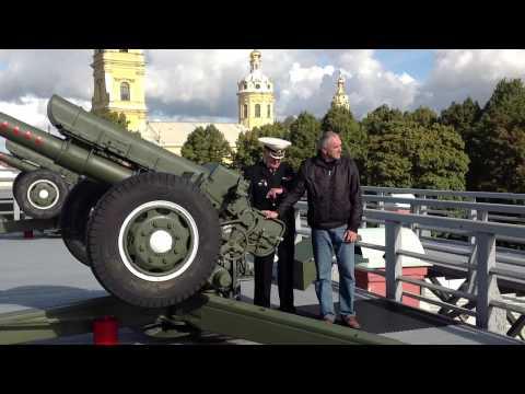 Смотреть Выстрел из пушки Петропавловской крепости онлайн