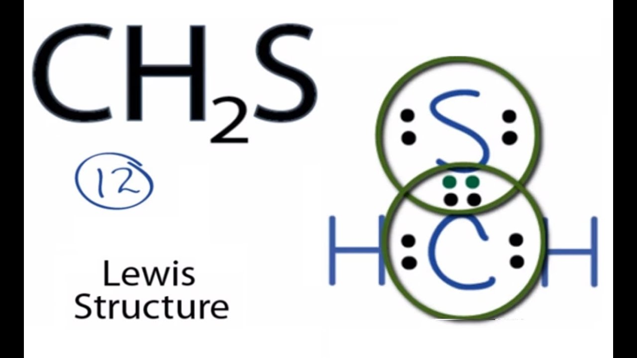 Ch2s Lewis Structure How To Draw The Lewis Structure For