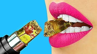 11 DIY Edible Makeup Ideas / 11 Funny Pranks