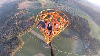 Climbing a 363m Radio Tower in Germany-GYK