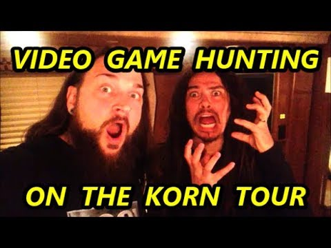 VIDEO GAME HUNTING ON THE KORN TOUR | Scottsquatch