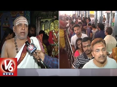 Devotees Rush To Warangal Thousand Pillar Temple On Sankranti Celebration | V6 News