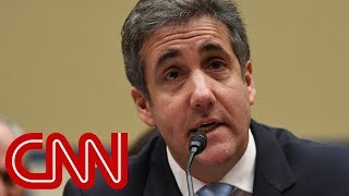 Michael Cohen's warning for Trump's defenders