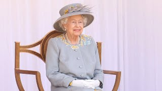 video: Trooping the Colour 2021: A 'memorable and uplifting day' for the Queen at Windsor Castle