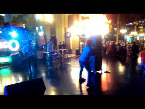 Rock and Roll group at Trans Studio, Bandung