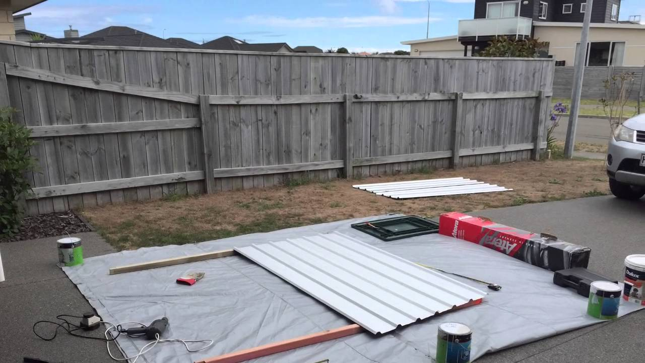 building a shed youtube