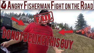 ANGRY Guy Fights Fisherman (DON'T BE THIS GUY) After Epic Day On The ICE Fishing For Big Smallmouth
