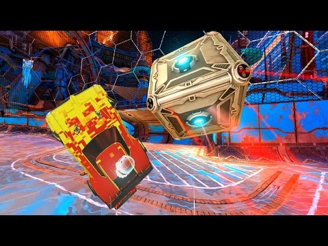 Thumbnail: GIANT CUBE ROCKET LEAGUE