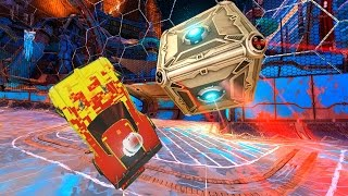 GIANT CUBE ROCKET LEAGUE