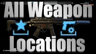 Ghost Recon Wildlands - All Weapons, Weapon Attachments, And Bonus Medal Locations (Map Included!)