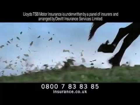 Lloyds Car Insurance Advert