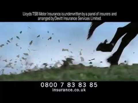 Lloyds Car Insurance Advert