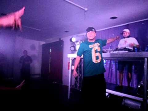 LiquidSilva opening for D12 Rockhampton #3 2012