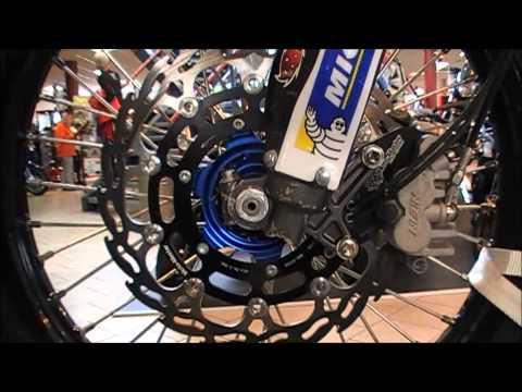 Yamaha YZF Rally bike - Fans Verhoeven, Dakar -