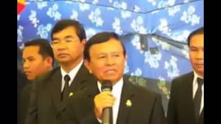 People ,Khem Sokha, CNRP attent king ceremony