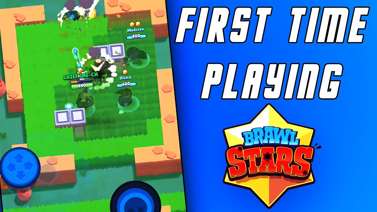 Throwback Thursday Ep2: First Time Playing Brawl Stars