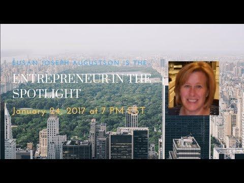 Entrepereneur In the Spotlight 062: Susan Joseph Augustson