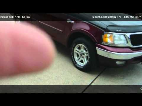 2003 Ford F150 Xlt Supercab 2wd For Sale In Mount Juliet
