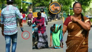 Dropping Rs2000 In Public | Social experiment #09 | Kovai 360