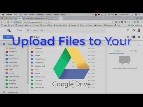 Allow Others to Upload Files to Your Google Drive