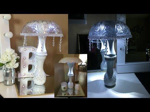 Diy Dollar Tree Battery Operated Lamp Doovi