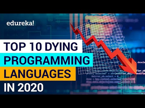 Top 10 Dying Programming Languages in 2020 | Worst Programming Languages | Edureka