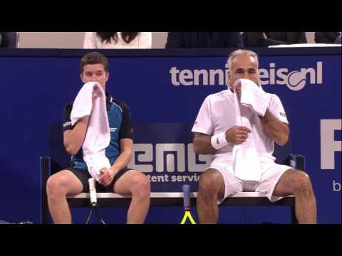 Eltingh/Haarhuis - wildcardwinnaar Clavel/Bahrami | AFAS Tennis Classics 2016