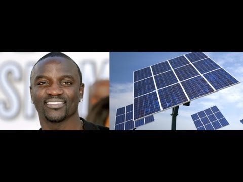 Senegalese rapper Akon to supply 600 Million in Africa with electricity through Solar Panels