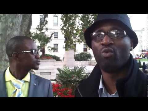 COMBATTANTS ET MINISTRE DES AFFAIRES ETRANGERS A LONDRES POUR COMMONWEALTH, RAPPORT DE MEETING