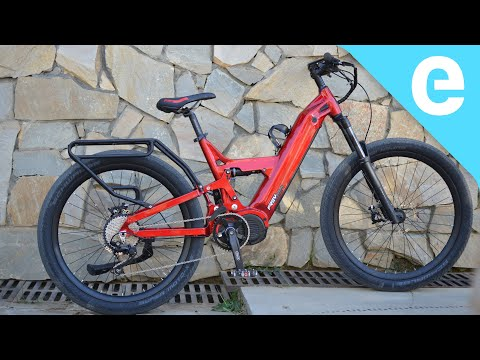 FREY CC Full Suspension 1.5 KW E-bike First Ride