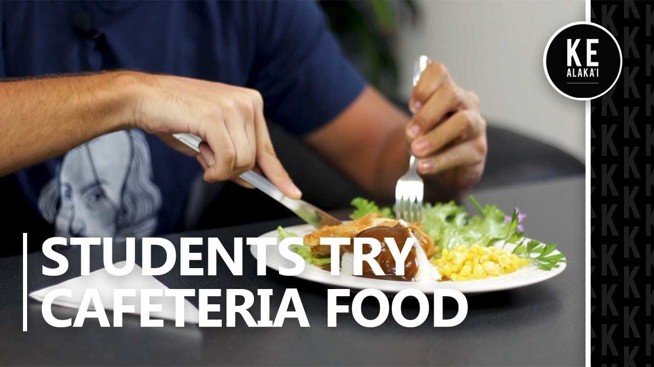 Byuh Students Try Cafeteria Food Youtube